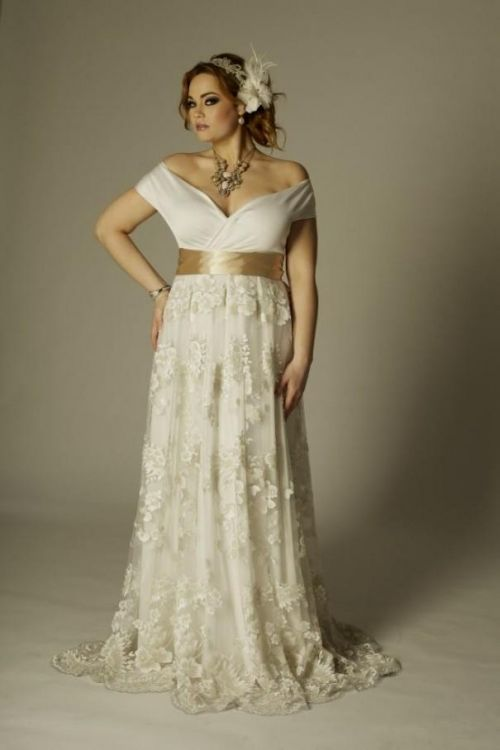 Plus Size Evening Dress for Wedding