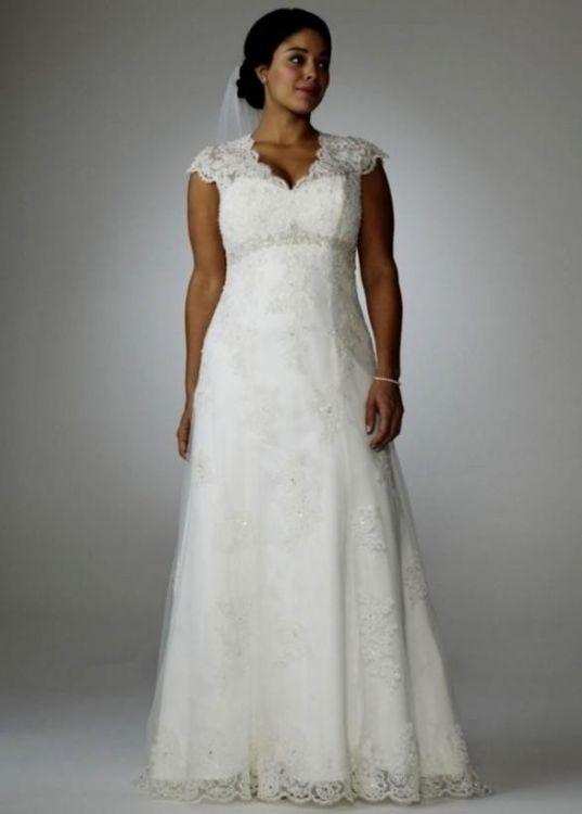 Plus size lace wedding dresses 2016 2017 b2b fashion for Size 24 dresses for wedding