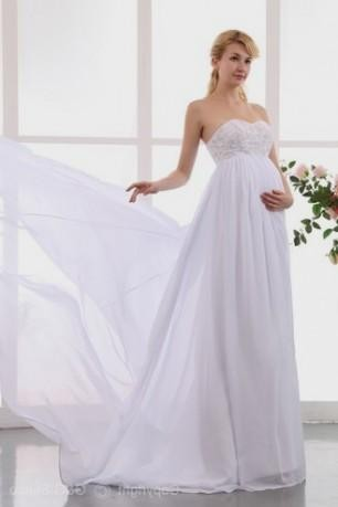 Maternity Plus Size Wedding Dresses 20