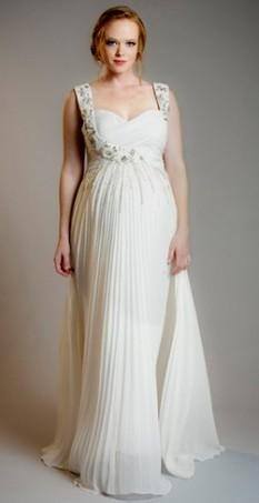 plus size maternity wedding dresses looks | B2B Fashion