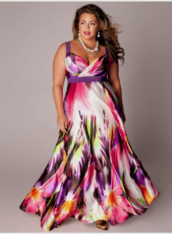 Plus Size Maxi Dresses With 3 4 Sleeves 2017 2018 187 B2b