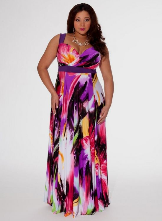plus size maxi sun dresses looks | B2B Fashion