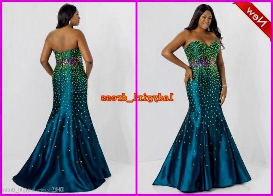 Plus Size Mermaid Prom Dresses 2018