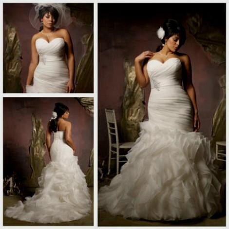 You Can Share These Plus Size Mermaid Wedding Dresses With Sleeves On Facebook Stumble Upon My Space Linked In Google Twitter And All Social