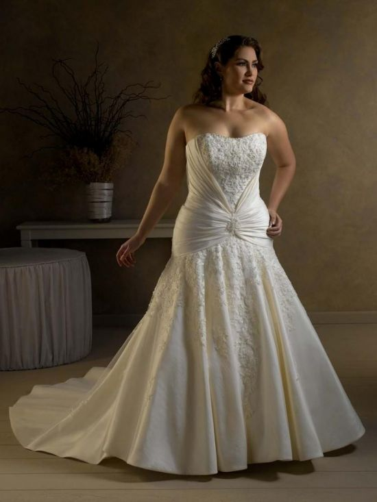 Plus Size Mermaid Wedding Dresses With Sleeves 2016 2017
