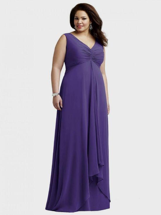 Plus Size Bridesmaid Dresses Plum Eligent Prom Dresses