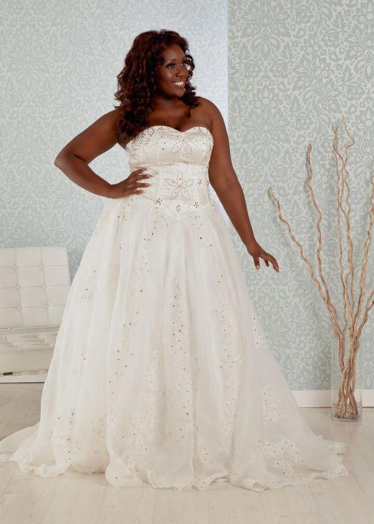 plus size princess wedding dresses 2016-2017 | B2B Fashion
