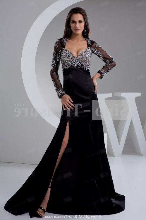 Plus Size Prom Dresses Black And White 2016 2017 B2b Fashion