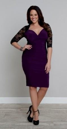 plus size purple cocktail dresses 2016-2017 » B2B Fashion