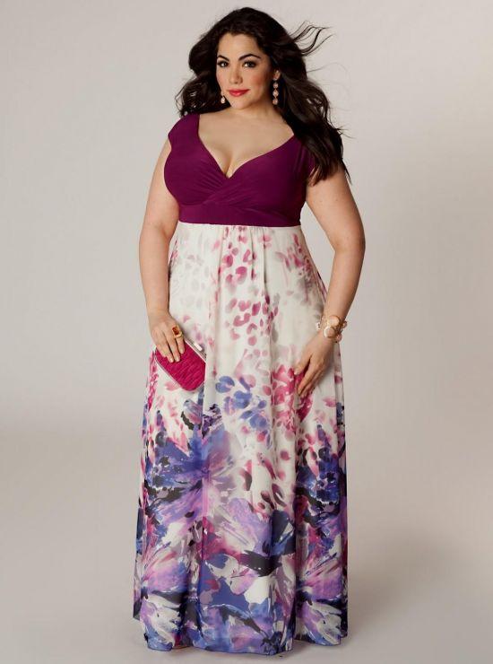 plus size purple maxi dress 2016-2017 | B2B Fashion - photo #11