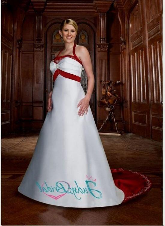 plus size red and white wedding dresses 2016-2017   B2B Fashion