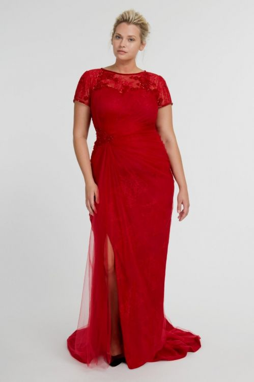 plus size red evening gowns 2016-2017 | B2B Fashion