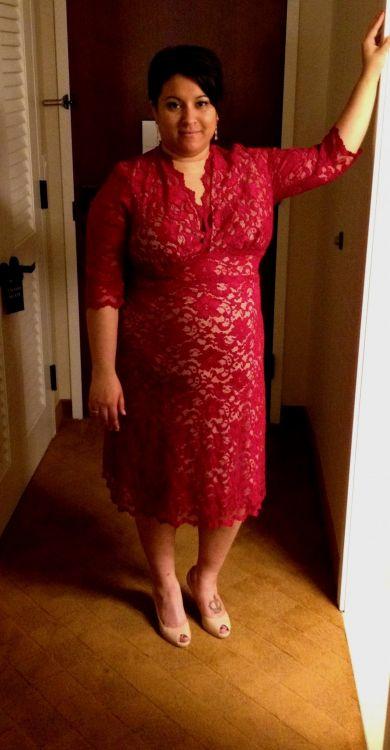 a92821f9bff2c Plus Size Red Lace Dress – Fashion dresses