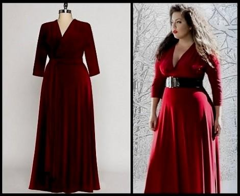 plus size red maxi dress 2016-2017   B2B Fashion