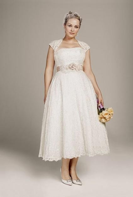 plus size short wedding dresses 2016-2017 | B2B Fashion