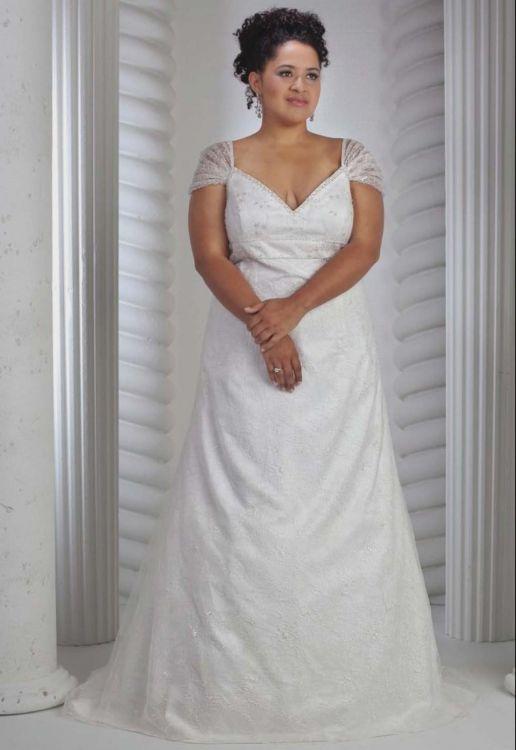 plus size short wedding dresses with sleeves 2016-2017 » B2B Fashion