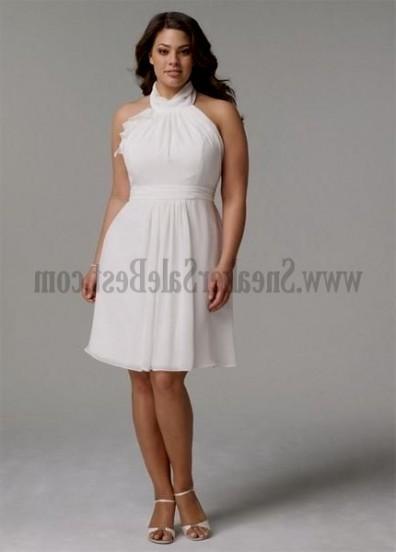 plus size short white dresses looks | B2B Fashion