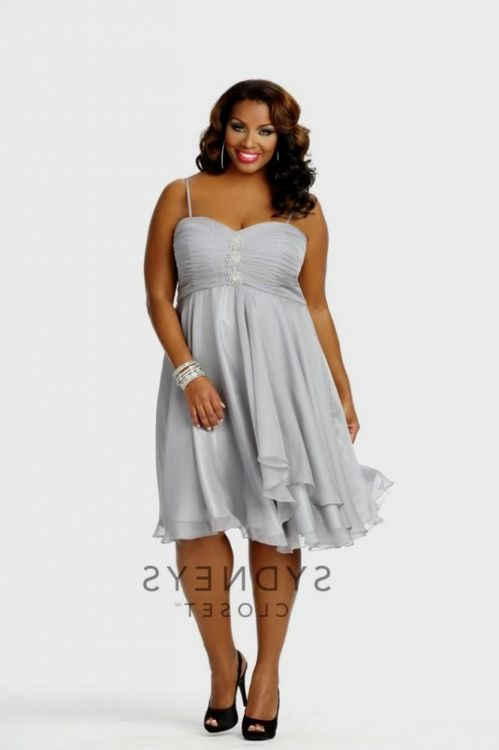 Plus Size Silver Dresses Looks B2b Fashion