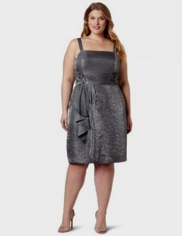Silver Dress Plus Size Keninamas