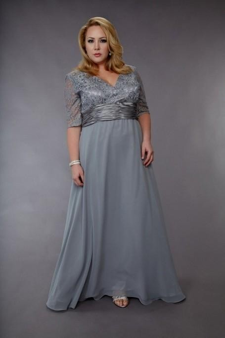 plus size silver mother of the bride dresses 2016-2017 | b2b fashion