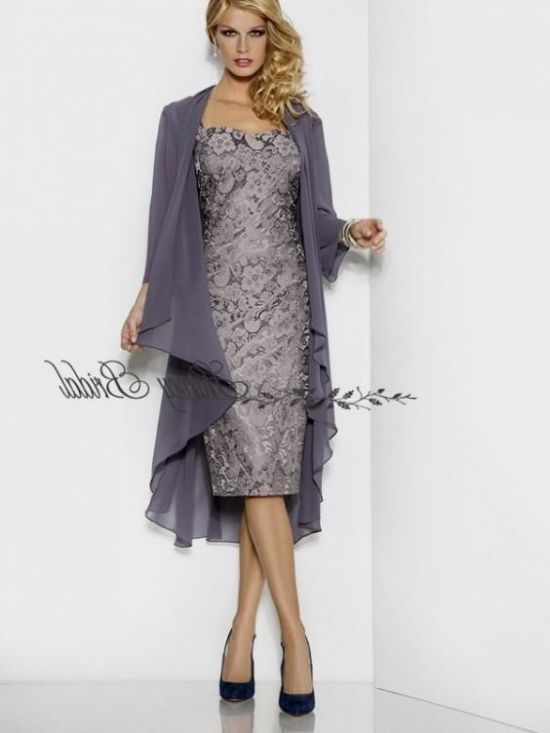 Plus Size Silver Mother Of The Bride Dresses 2016-2017