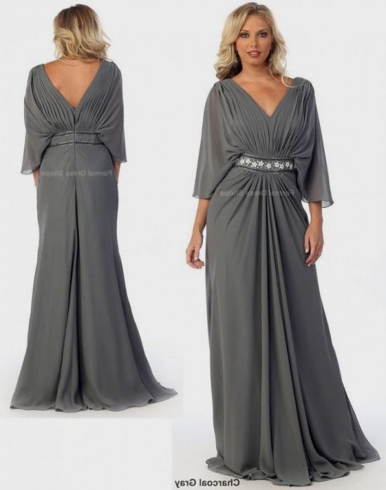 935f710c16 You can share these plus size silver mother of the bride dresses on  Facebook