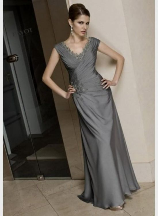 Mother Of The Bride Plus Size Dresses In Silver Wedding Dresses