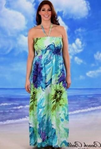 b30a9ee684f You can share these plus size summer beach dresses on Facebook