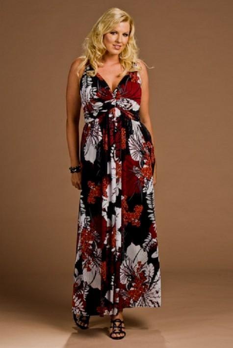 Flattering summer dresses plus size