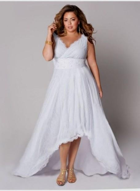 Plus Size Summer Dresses White 2016 2017 B2b Fashion
