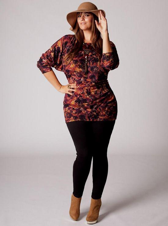 c41bb1ca01c plus size sweater dress with leggings looks