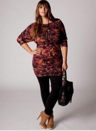 Plus Size Sweater Dresses With Boots Looks B2b Fashion