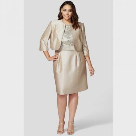 plus size taupe lace dress 2016-2017 » B2B Fashion