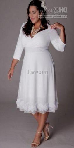 Plus Size Tea Length Dresses – Fashion dresses