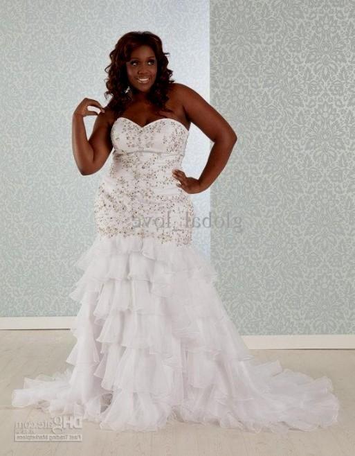 Plus size trumpet wedding dresses for Plus size trumpet wedding dress with sleeves