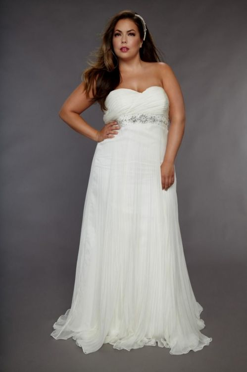 Plus size wedding dress beach 2016 2017 b2b fashion for Beach wedding dresses for plus size