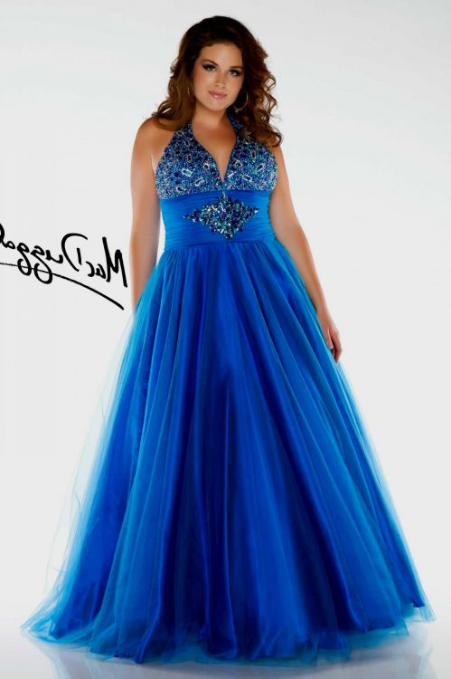 Plus size wedding dresses with blue 2016 2017 b2b fashion for Blue wedding dresses plus size