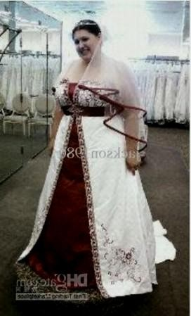 Plus Size Wedding Dresses With Color 11