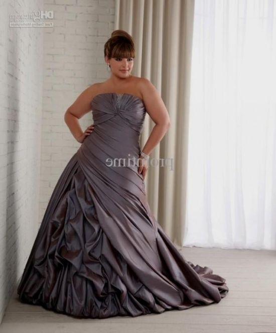 Plus Size Wedding Dresses With Color: Plus Size Wedding Dresses With Color Accents Looks