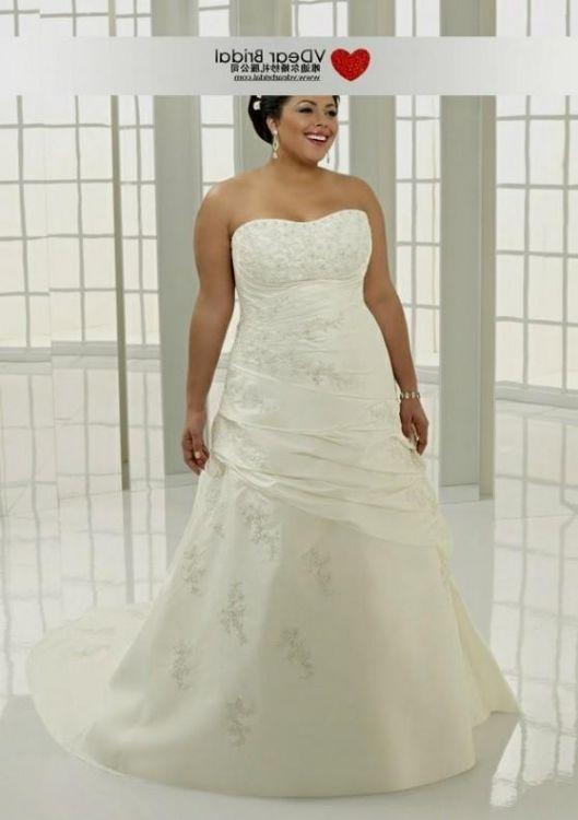 Plus Size Wedding Dresses With Color Accents Plus Size Tops