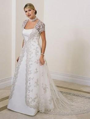 plus size wedding dresses with sleeves looks | B2B Fashion