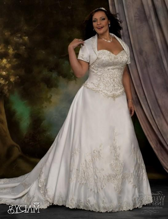 plus size wedding dresses with sleeves or jackets 2016-2017 | B2B ...