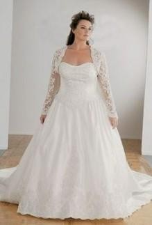Plus Size Dresses With Jackets For Wedding 46