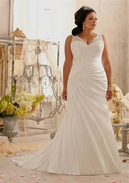 Plus size wedding dresses with straps 2016 2017 b2b fashion for Plus size champagne wedding dresses