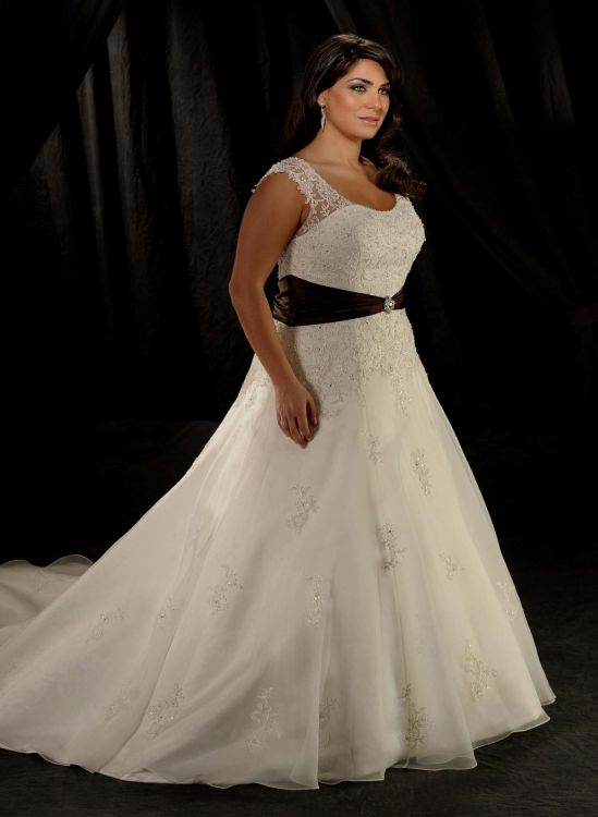 plus size wedding dresses with straps 2016 2017 b2b fashion