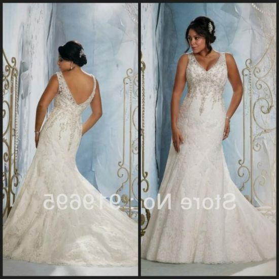 Plus Size Western Wedding Wear - Wedding Dress Image