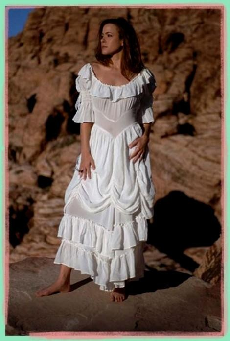 Plus size western wedding dress 2016 2017 b2b fashion for Plus size country western wedding dresses
