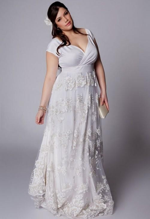plus size western wedding dresses looks | B2B Fashion