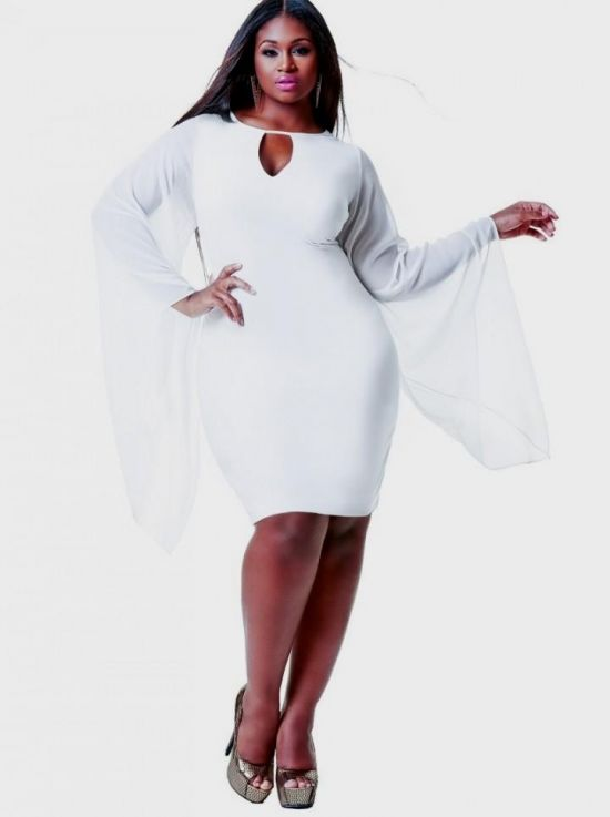 Plus Size White Club Dresses 2016 2017 B2b Fashion