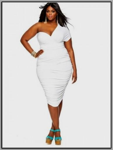 plus size white dresses for graduation looks | B2B Fashion